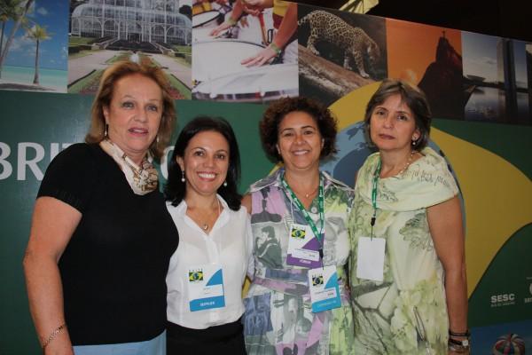 Anita Pires, Ilda Brito, Rosana Bety e Constança Carvalho, Brite 2011 - Rio