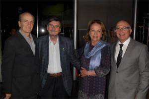Roosevelt Hamman, José Eduardo Rodrigues, Anita Pires e Arnaldo Nardone