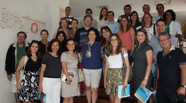 Delegação da ABEOC visitou principais espaços para eventos de Búzios