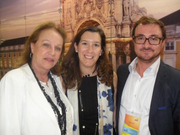 Anita Pires, Cecília Meireles e Joel Vicente