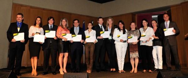 Presidentes estaduais da ABEOC Brasi empossados no 26º Congresso