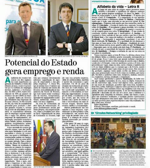 Jornal Correio do Povo 14 julho 2015