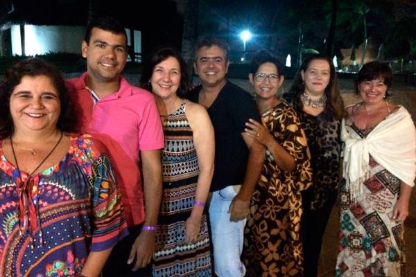Esq. Taciana Monte, Gisela Latache, João Henrique, Tatiana Marques, Mônica Latache e Beth Assunção